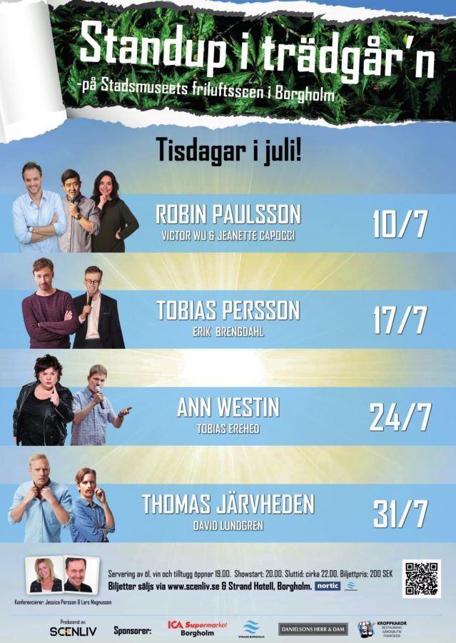 Standup i trädgår'n - Tobias Persson