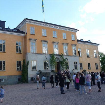 Sommarcafé på Garpenbergs Slott