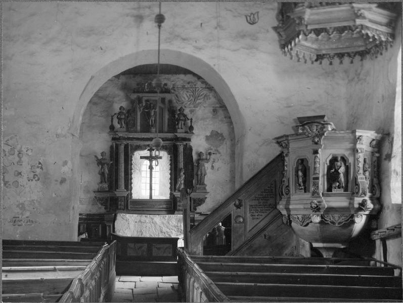 Die alte Kirche von Vederslöv