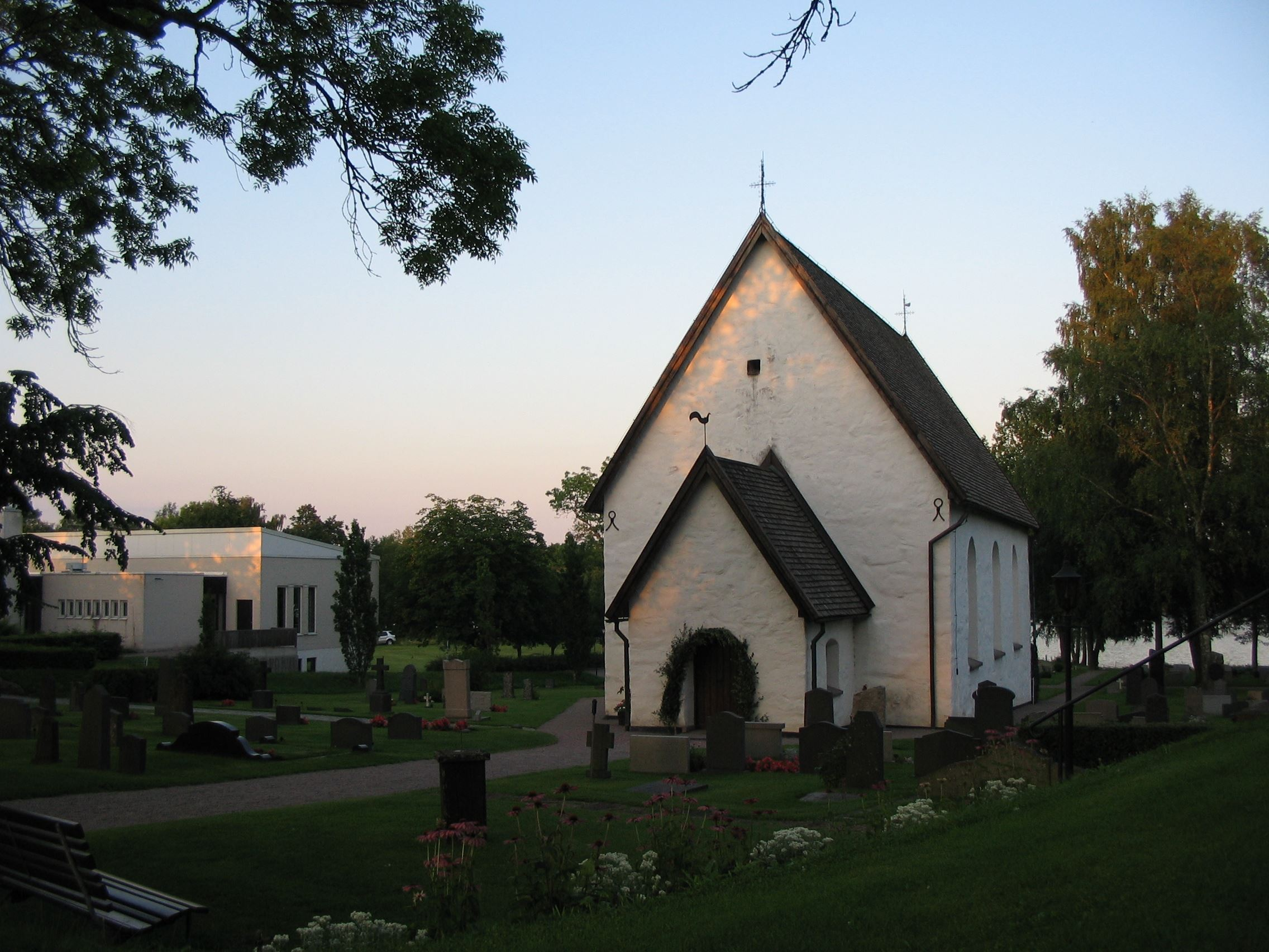 Die Kirche in Öjaby