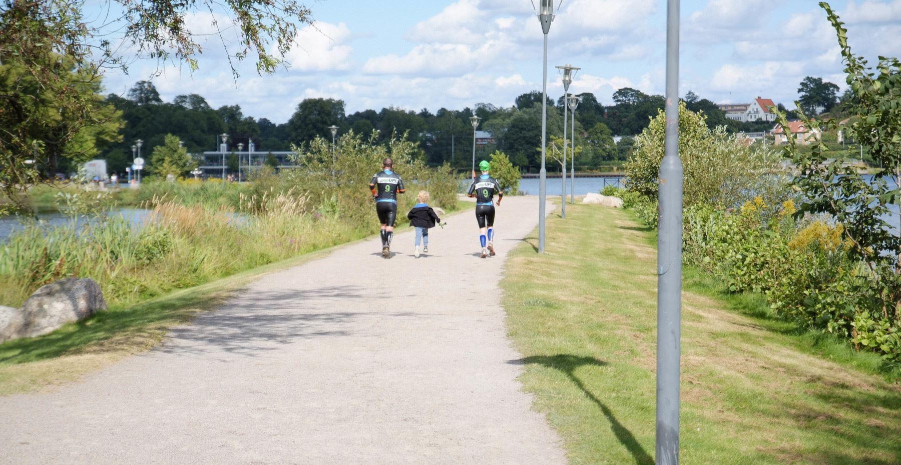 Fahrradtour Växjöåttan, 8 km
