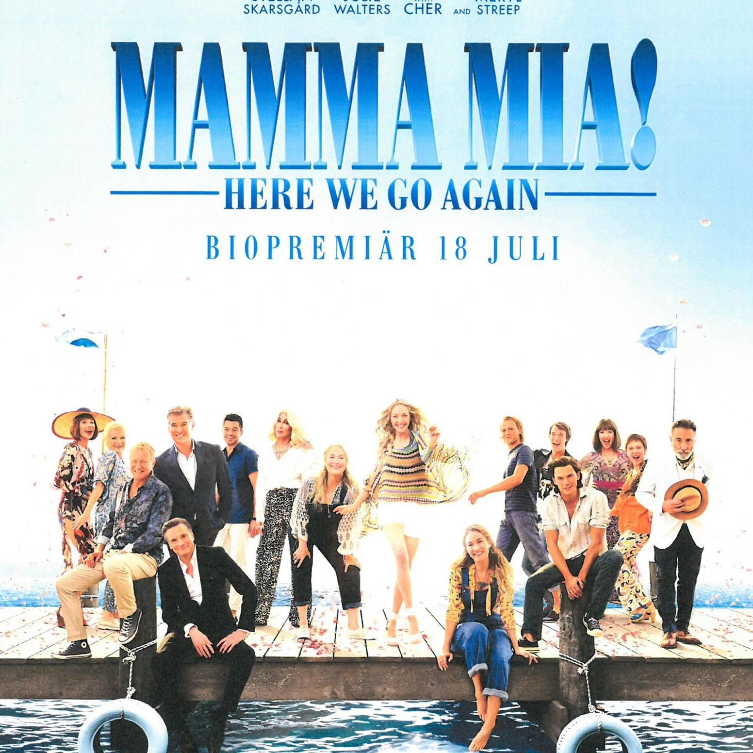 Film för daglediga - Mamma Mia! Here We Go Again