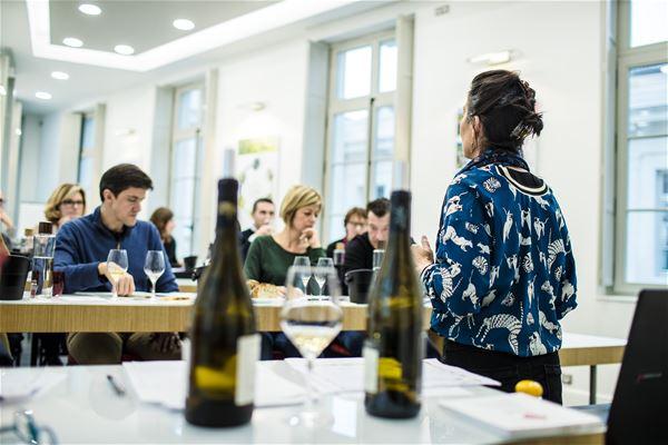 """Ecole des vins - Atelier dégustation """"Richesse des vins de la Vallée du rhône"""""""