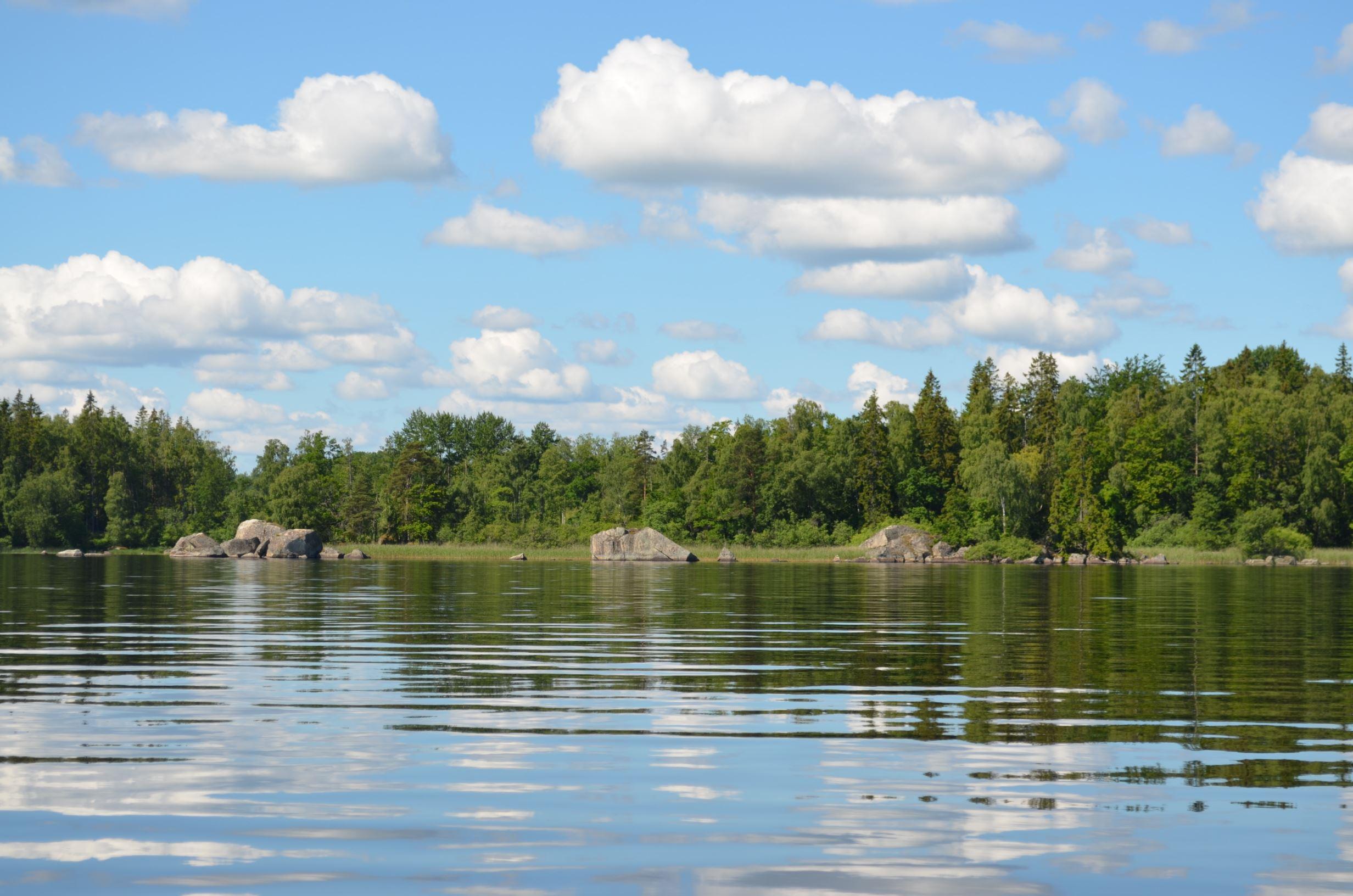 Ingela Eriksson, Der Nationalpark Åsnen