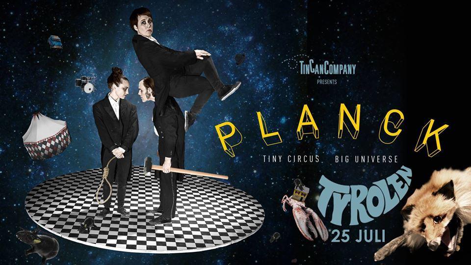 Nycirkus: Planck, med Tin Can Company