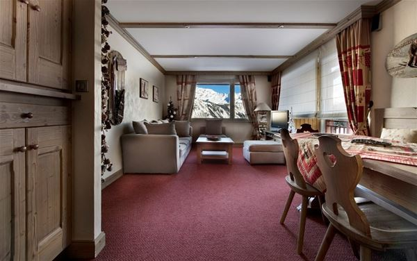 3 rooms 6 people ski-in ski-out / NOGENTIL A209 (mountain of charm)