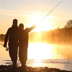 Familjefiskekväll i Tängvattnet - en del i fiskefestivalen