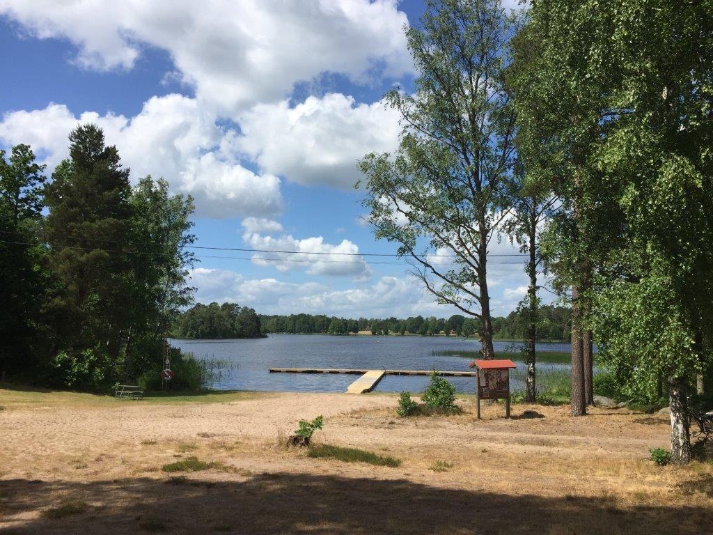 Swimming area Nabben - Linneryd/Lake Linnerydsjön