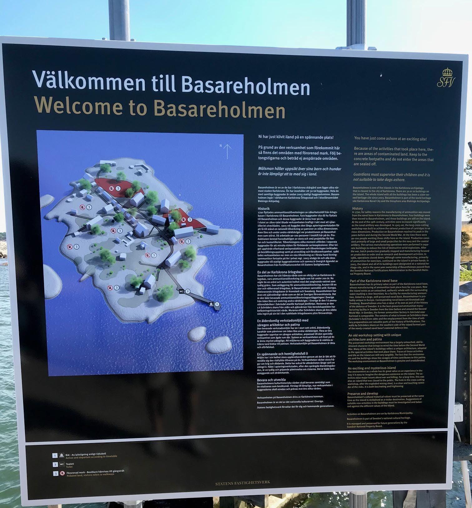 Guidad tur - Basareholmen v. 33