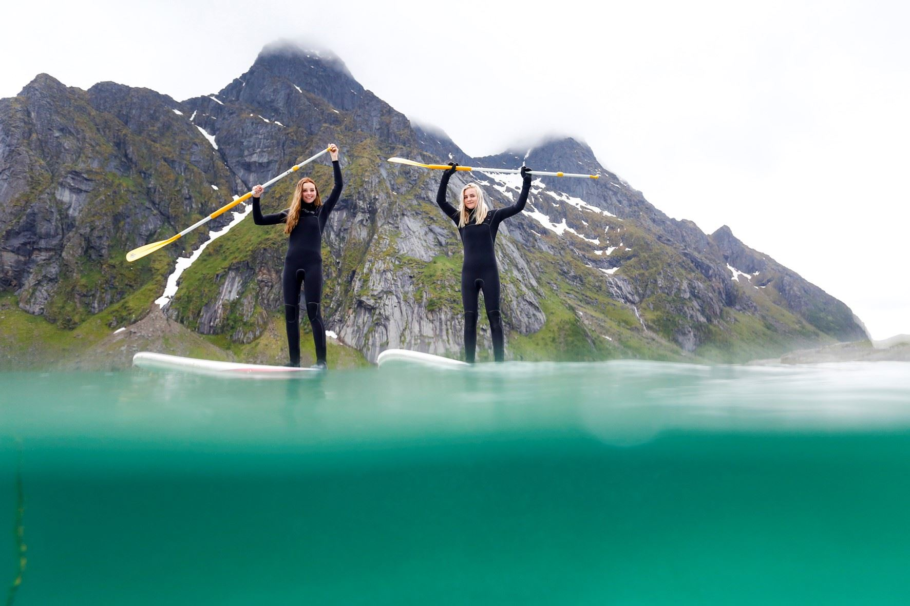 Stand-Up Paddle Tour - Unstad Arctic Surf
