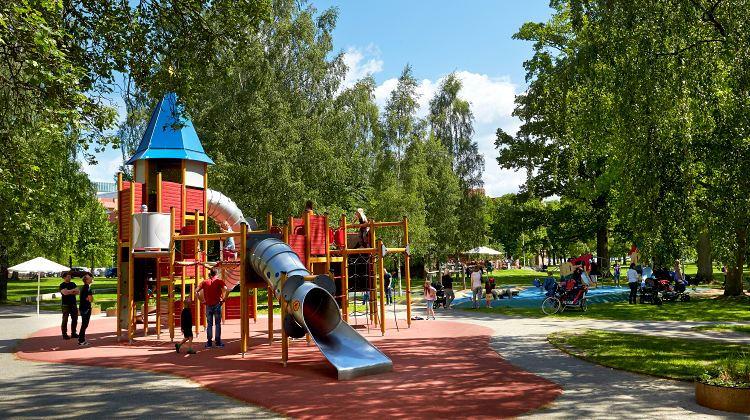 Mats Samuelsson, Spielplatz Strandbjörket