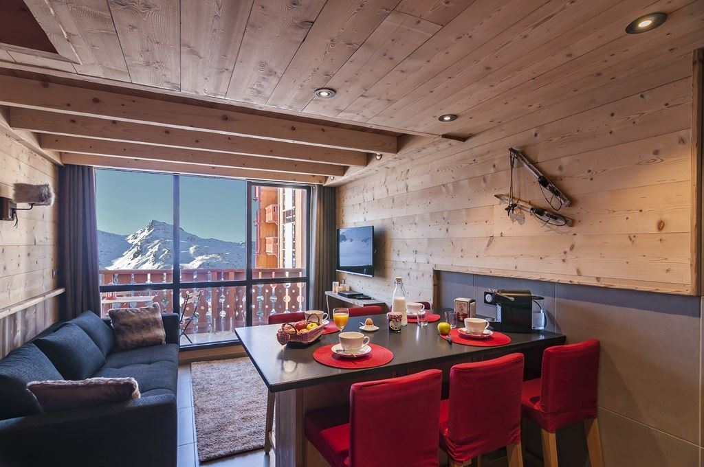 SILVERALP 341 / APPARTEMENT 4 PIECES 6 PERSONNES - 4 FLOCONS OR - ADA