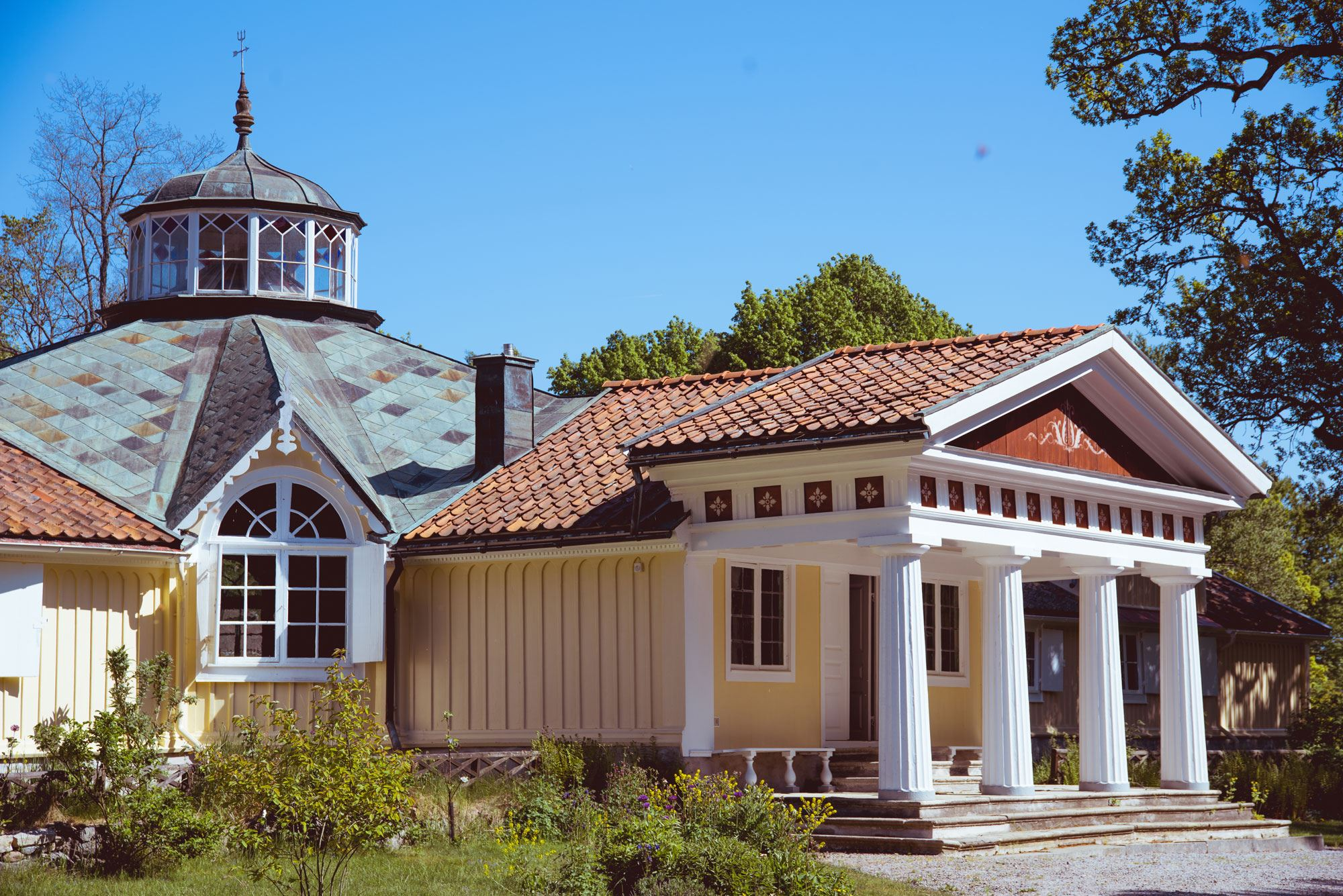 Guided tour - Skärva manor