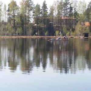 Put-and-take fiske i Ängomstjärn