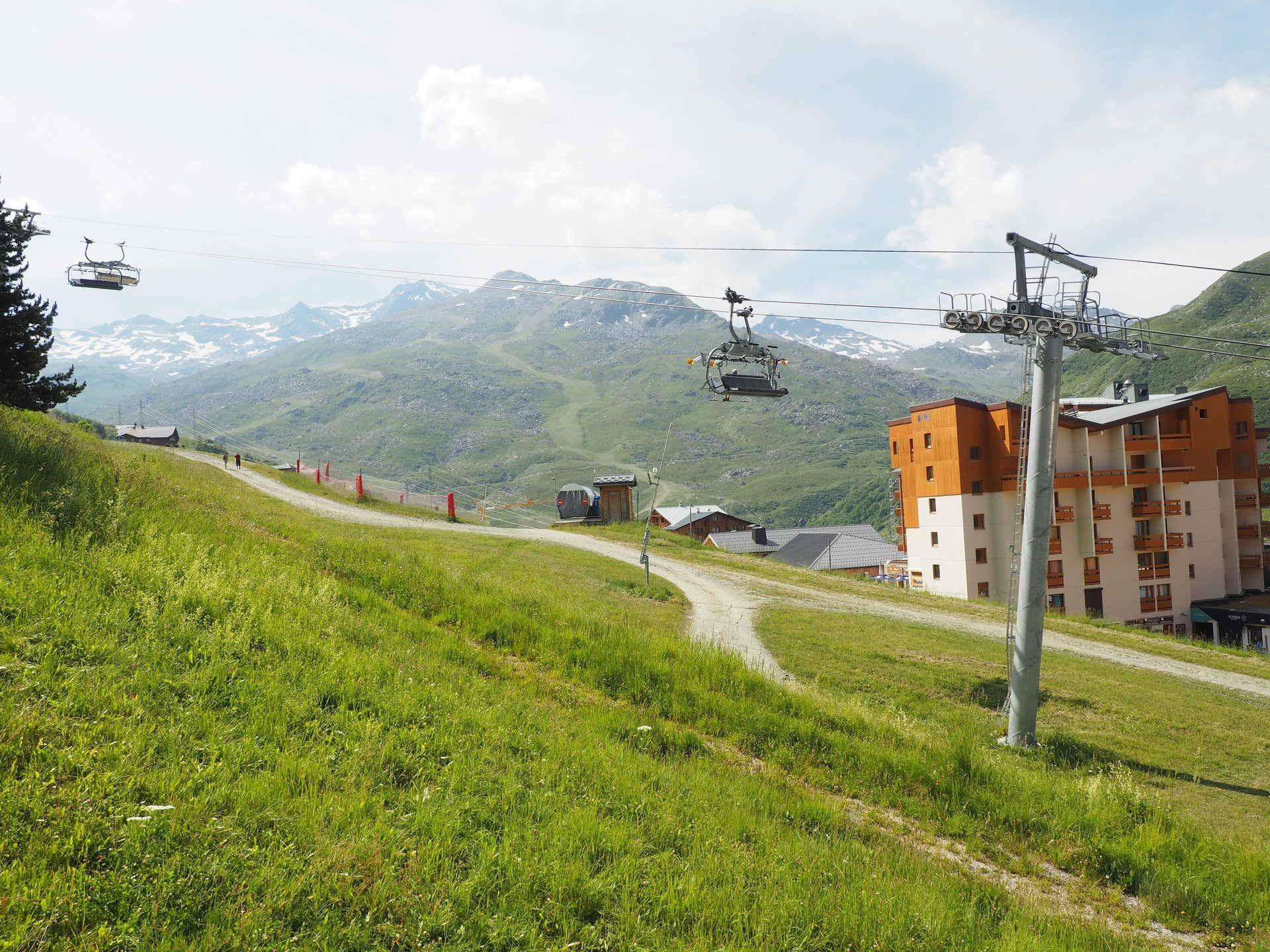 2 Pièces 4 Pers skis au pieds / Boedette D224