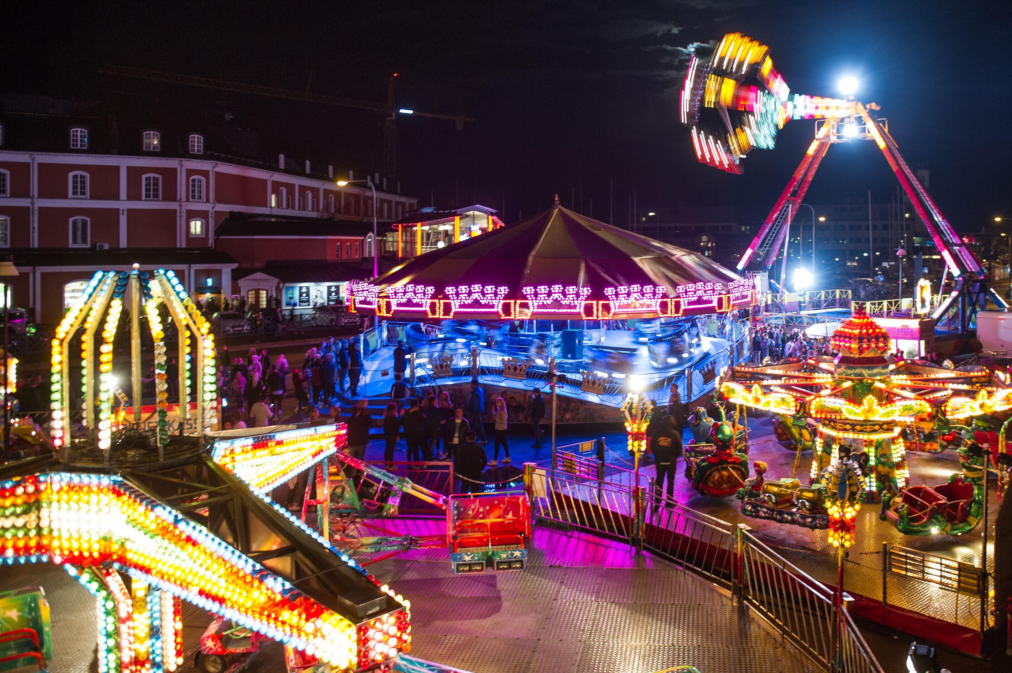 Kalmar stadsfest - Axels nöjesfält/tivoli