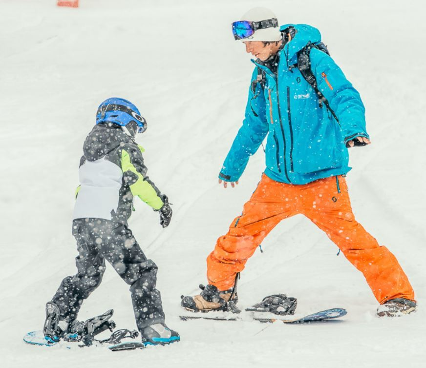 OXYGENE SKI SCHOOL - Snowboard collectives lessons adult and child