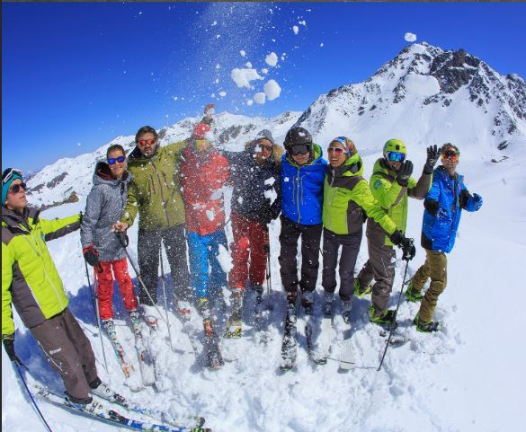 Full day without lunch - adult ski Group lessons – Prosneige