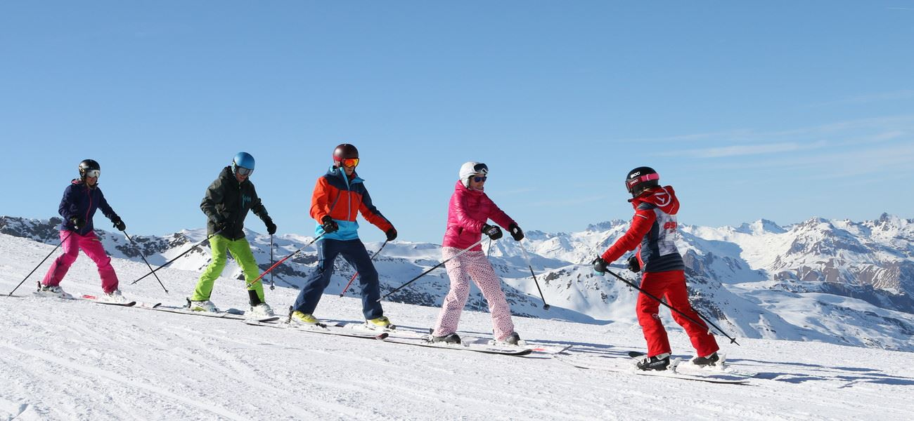 FRENCH SKI SCHOOL (ESF) - FULL DAY SKI LESSONS.