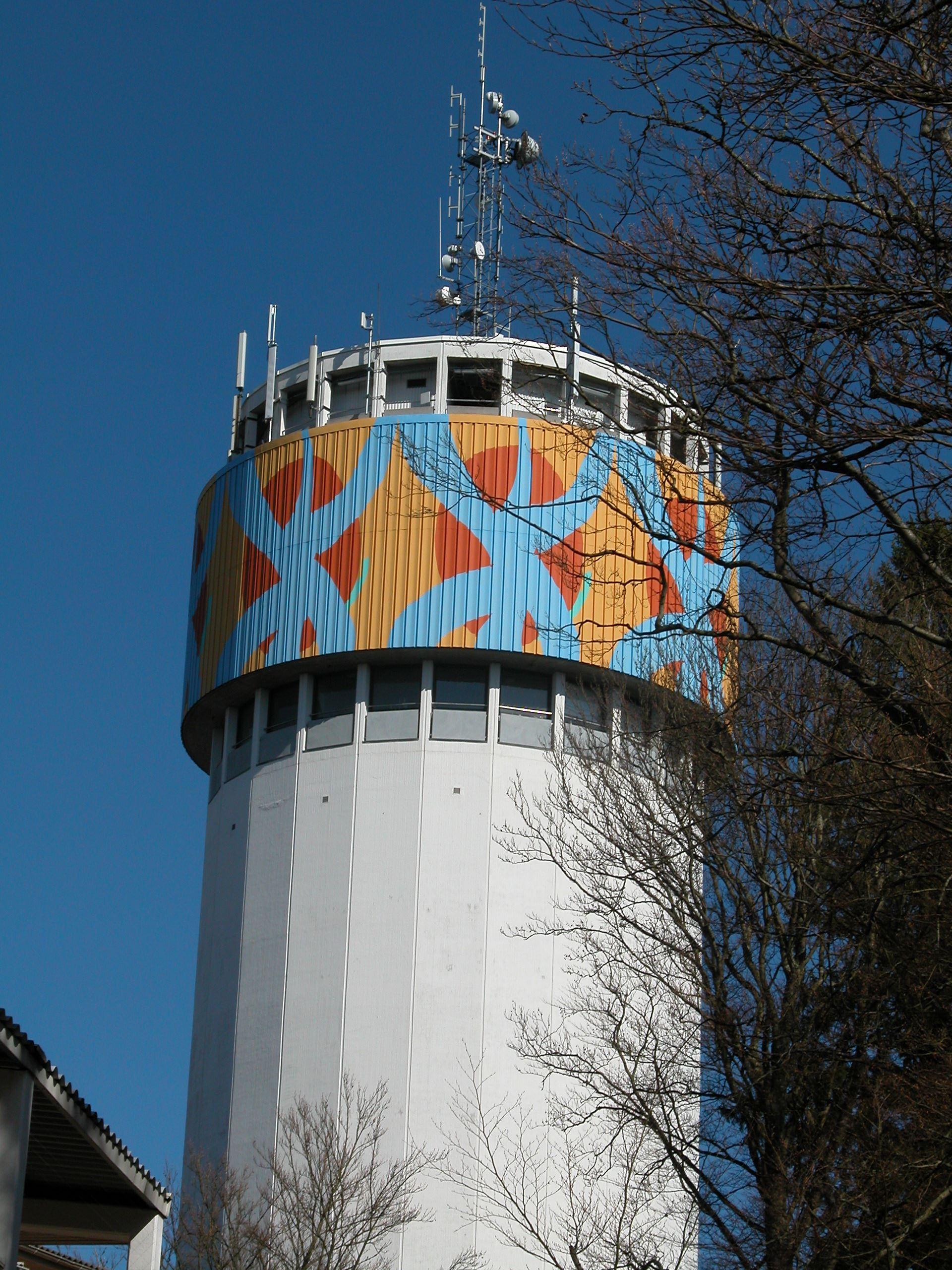 Der Wasserturm Älmhults