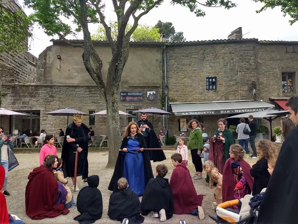 Visite guidée - Cité Médiévale - visite enchantée - SP - Espagnol
