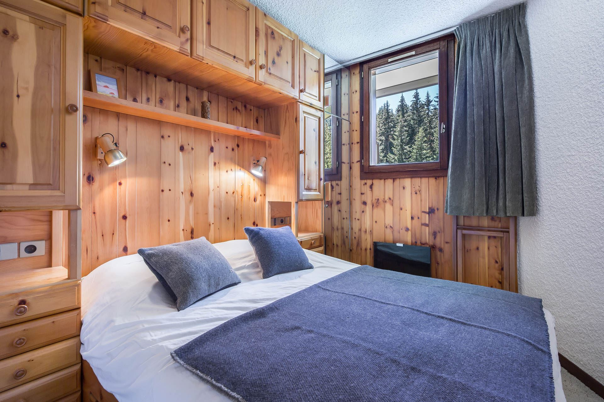 2 rooms 6 people / DOMAINE DU JARDIN ALPIN 102A (Mountain)