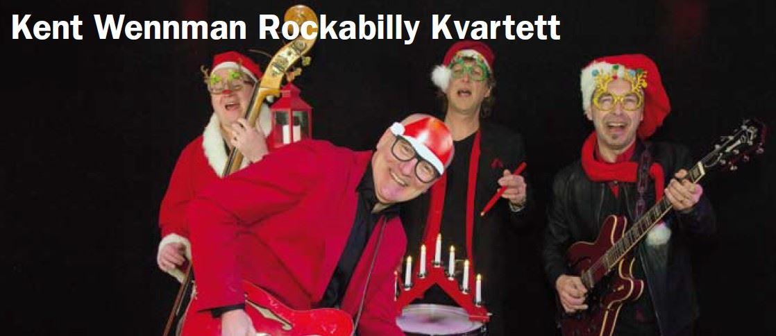 Rock & Roll Christmas Kent Wennman Rockabilly Kvartett, Åkersberga