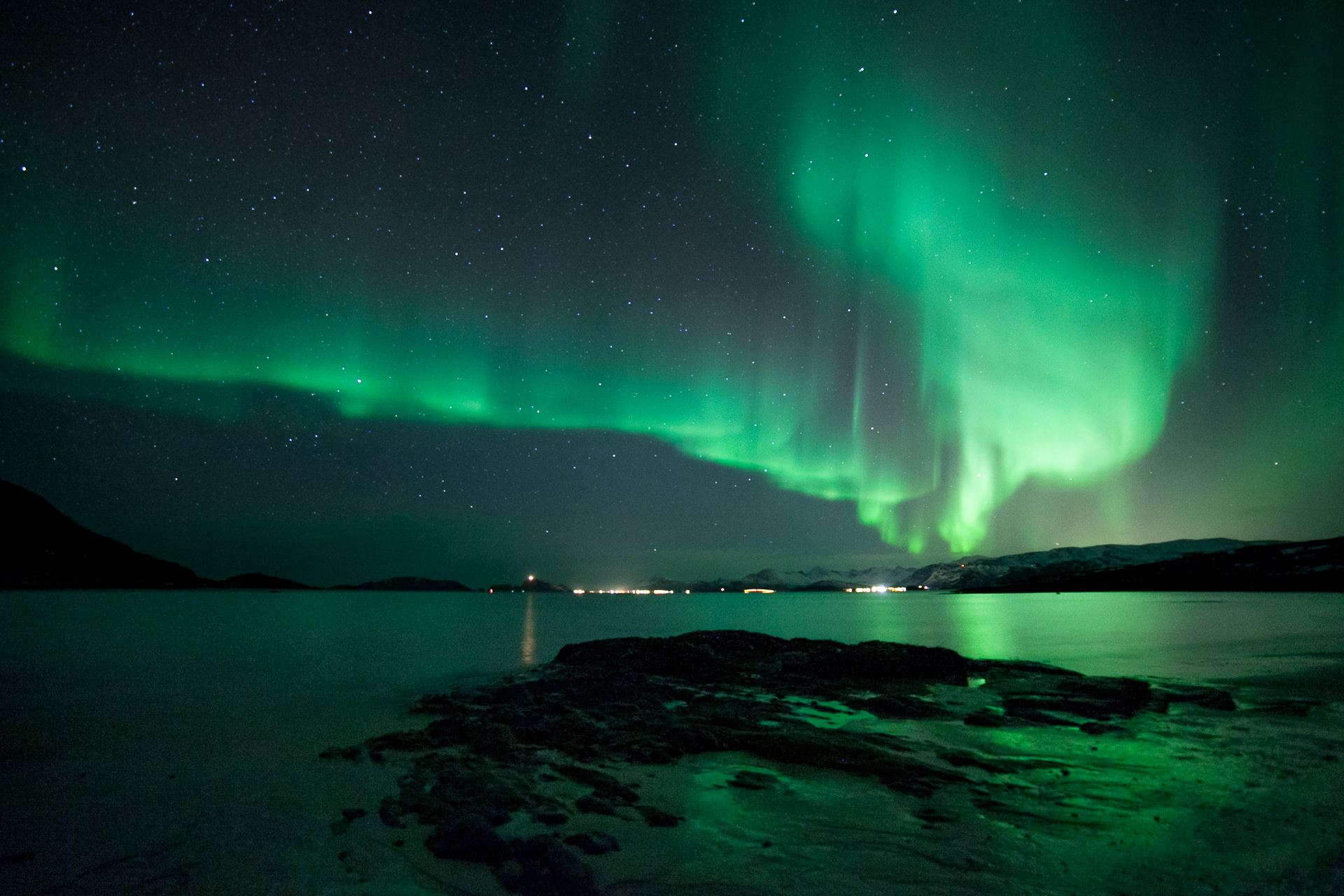 Northern Lights in the hidden fjords of Norway, 4 days