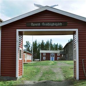 Friluftsgudstjänst vid Haverö hembygdsgård