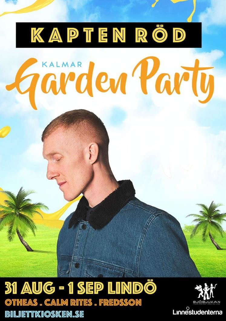 Kapten Röd på Kalmar Garden Party