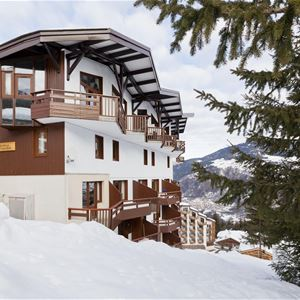 3 rooms + cabin, 9 people ski-in ski-out / Grand bois A1112 (Mountain) / Tranquillity Booking