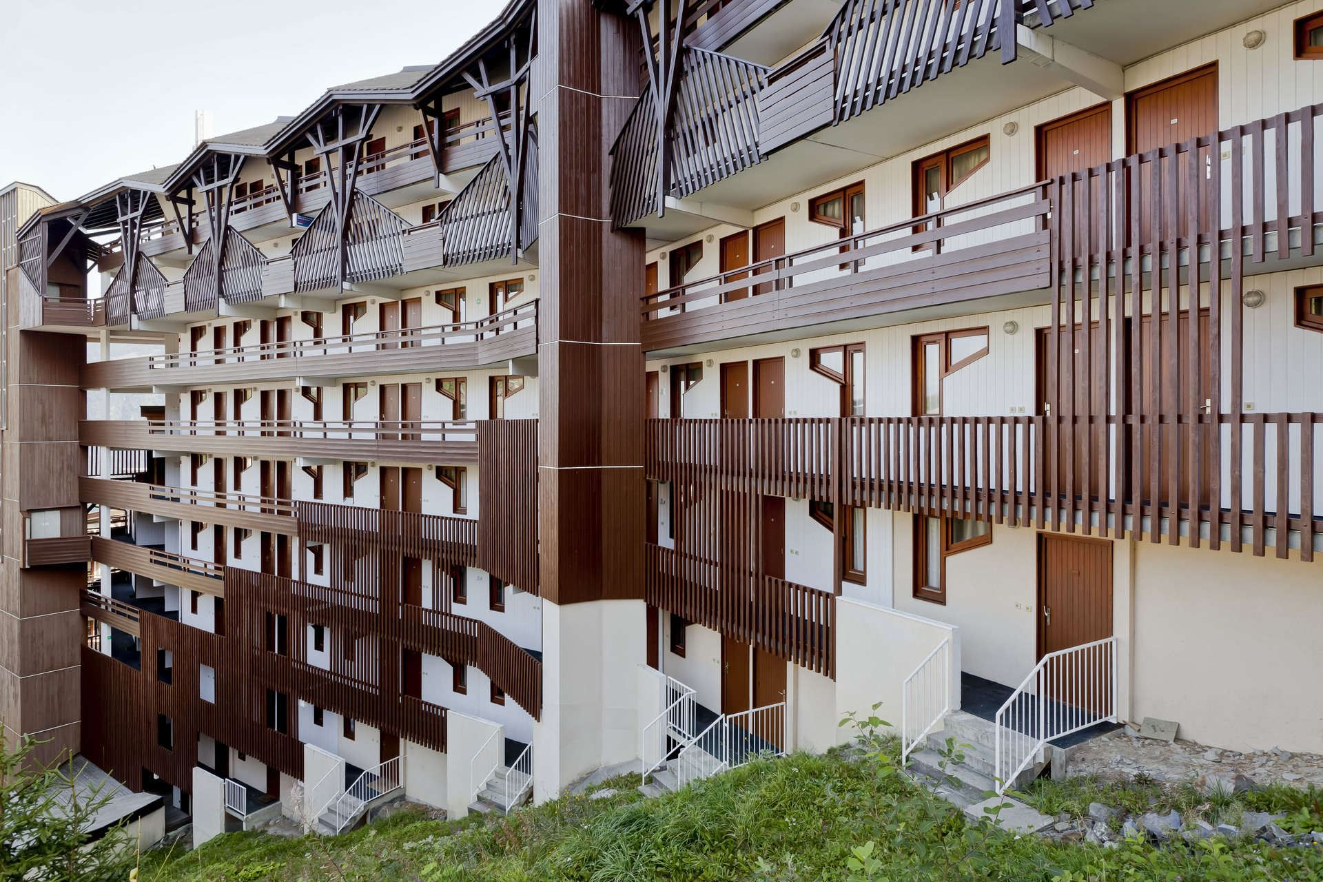 2 rooms, 4 people ski-in ski-out / Grand bois A 308 (Mountain)