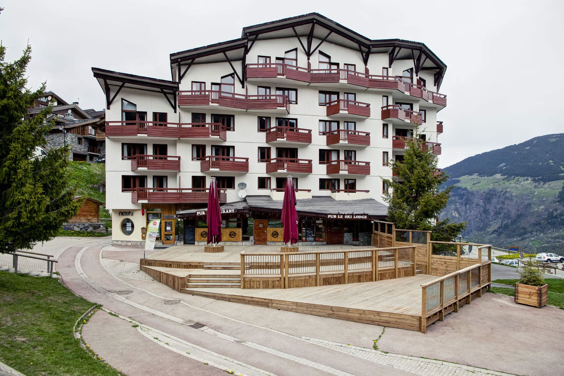 2 rooms, 4 people ski-in ski-out / Britania 602 (Mountain)