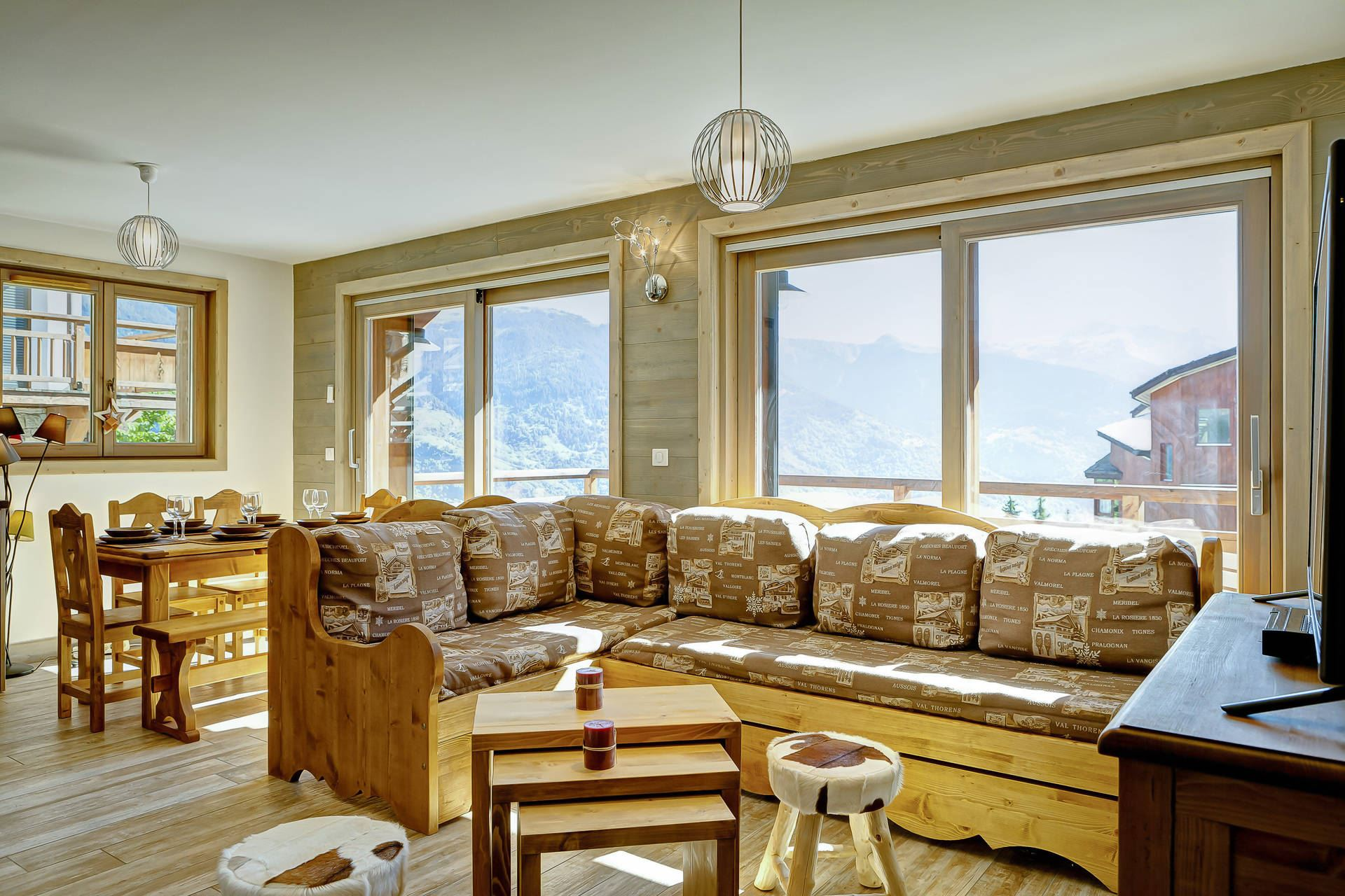 3 rooms, 7 people / Rocher blanc A6 (Mountain of charm)