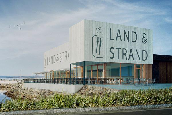 © Land & Strand, Bilde av eksteriør på restauranten Land & Strand