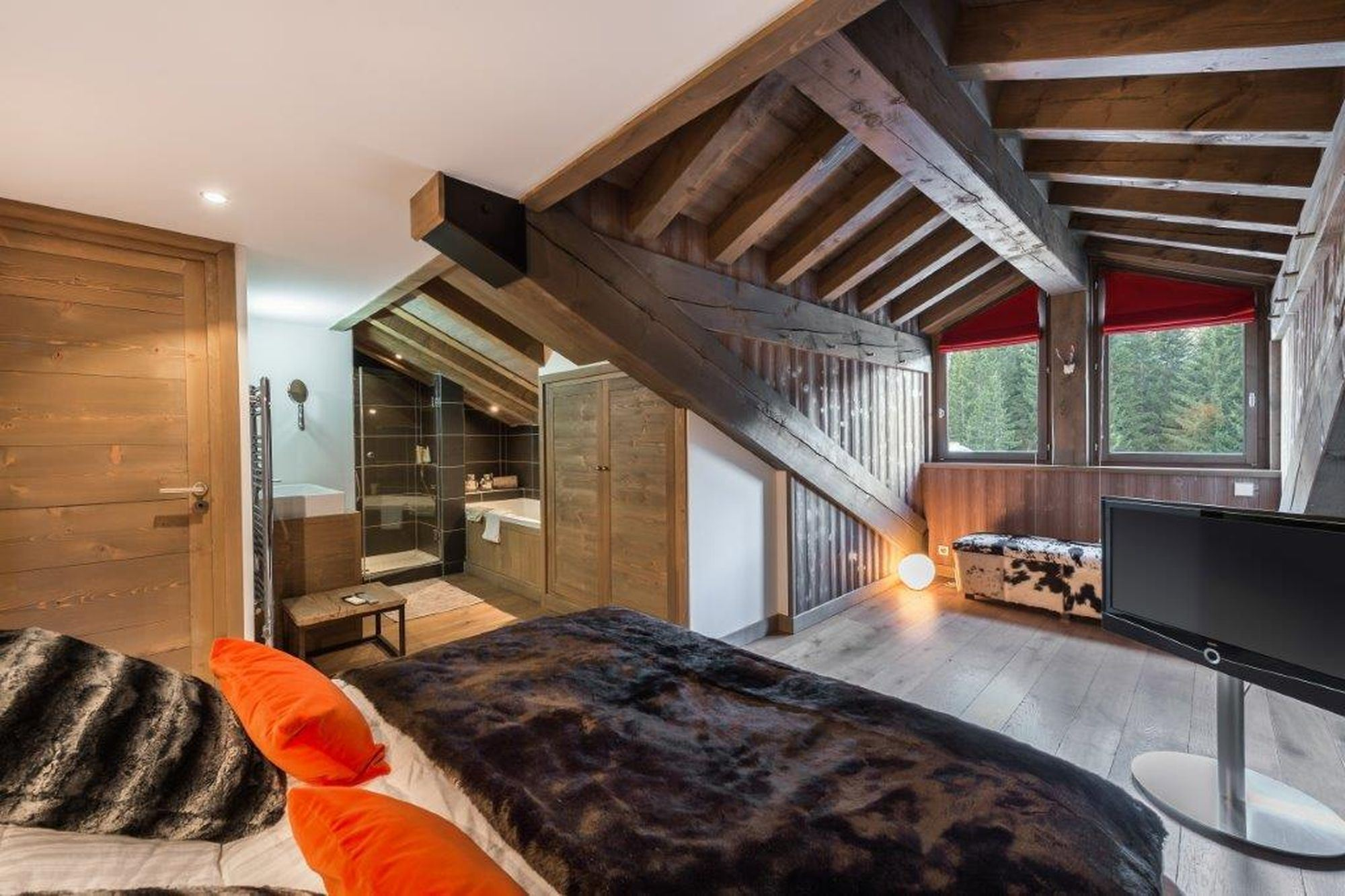 5 rooms 8 people ski-in ski-out / FORET DU PRAZ 3 (mountain of dream)