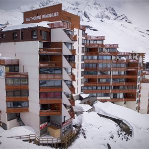 TROIS VALLEES 814 / APARTMENT 2 ROOMS CABIN 4 PERSONS - 3 GOLD SOWFLAKES - VTI