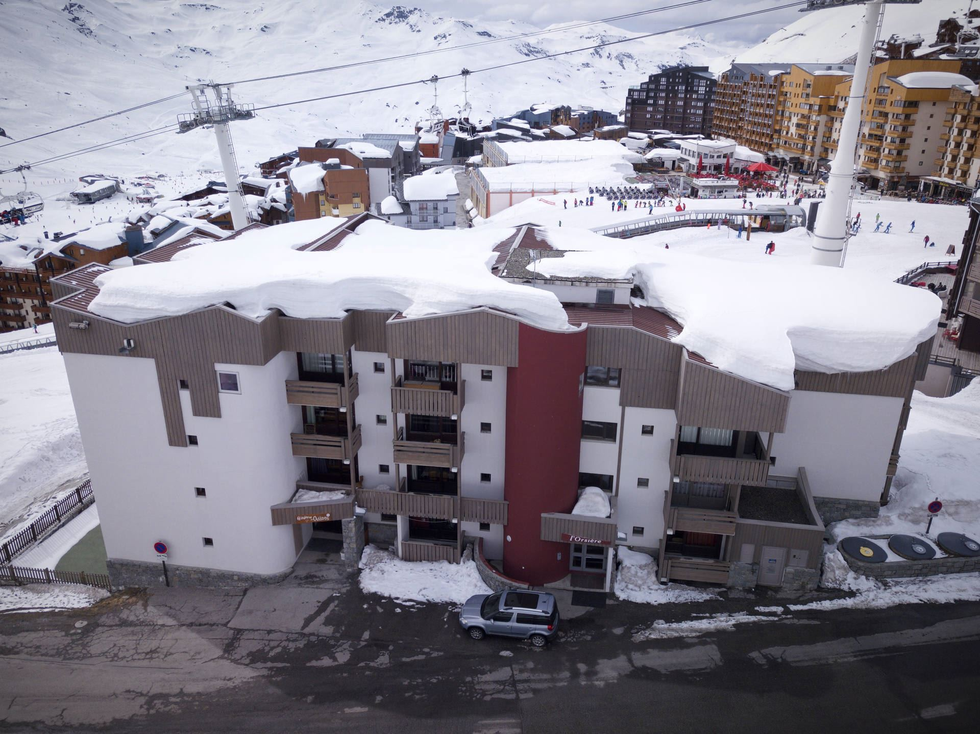 TROIS VALLEES 513 / 2 ROOMS 4 PEOPLE TYPE A COMFORT - 3 SNOWFLAKES SILVER - VTI