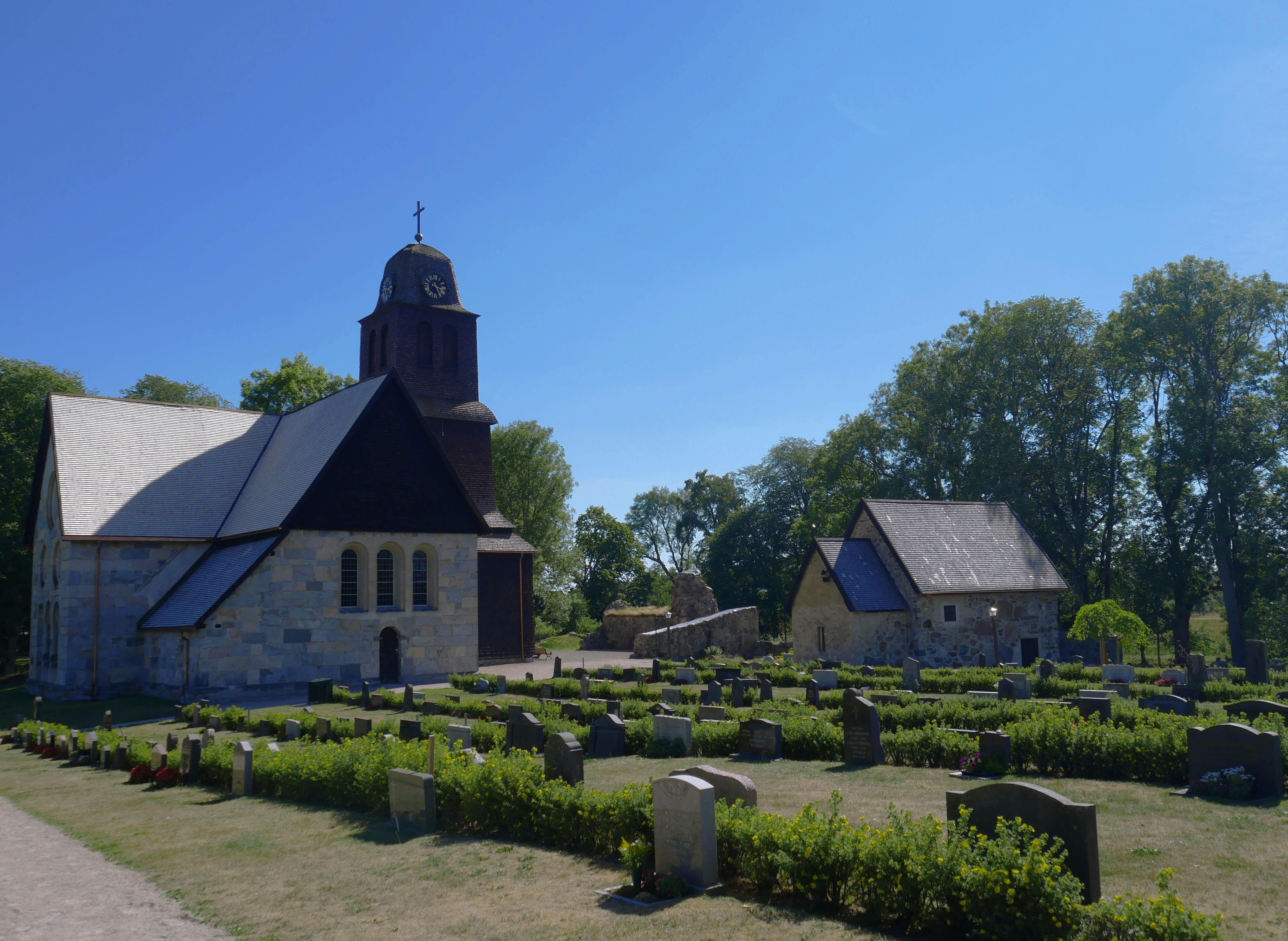 Nydala Abbey and monastery garden
