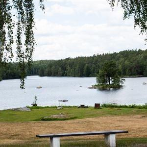 Linda Sjunnesson, utsikt mot sjön Halen