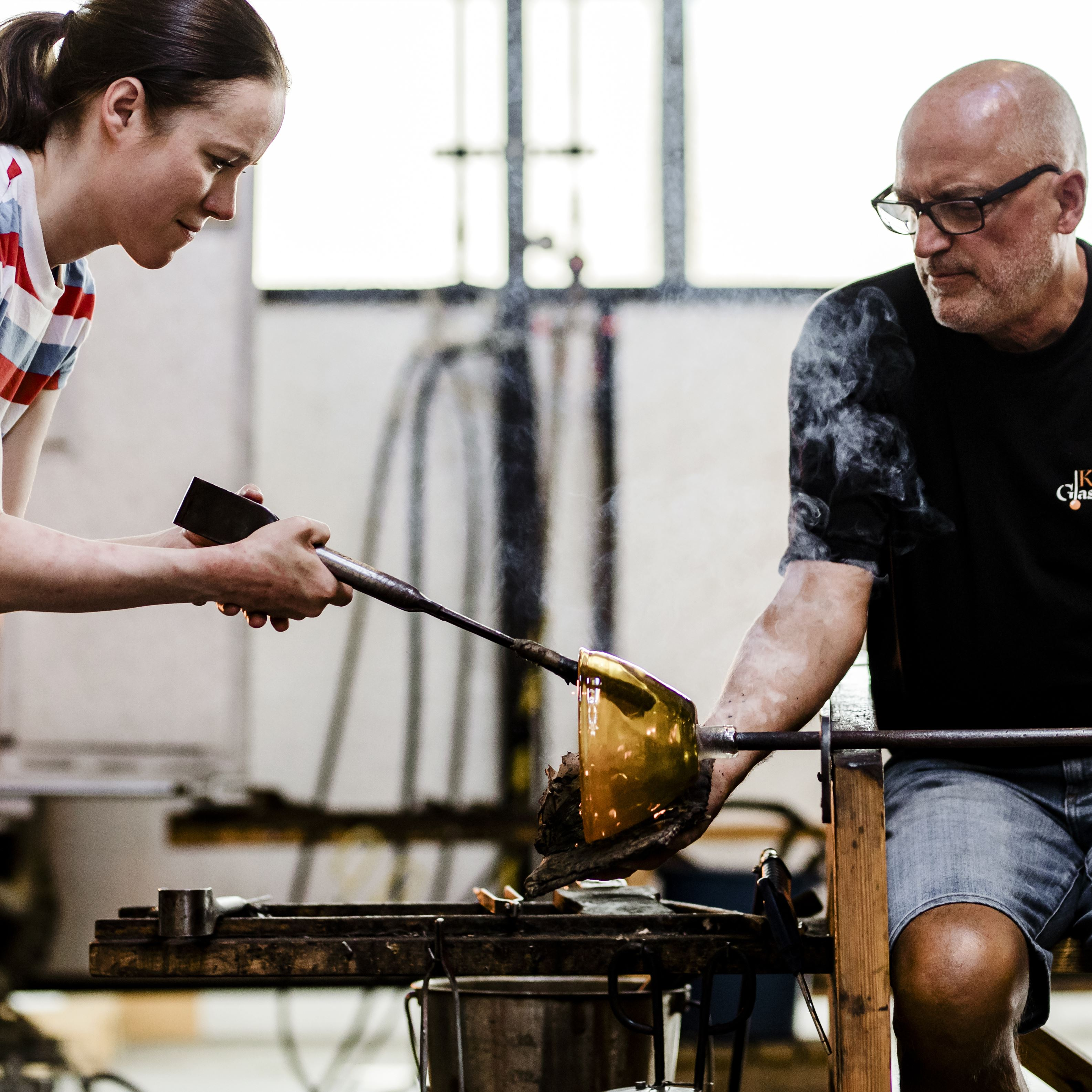 Try your hand at glassblowing