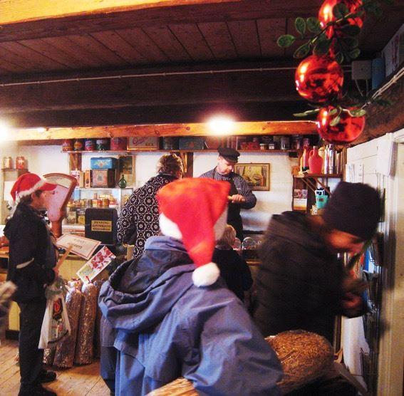 Julmarknad i Ausås i samarbete med scouterna