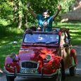 Car Rental of a mythical 2CV - 2'Moiselles