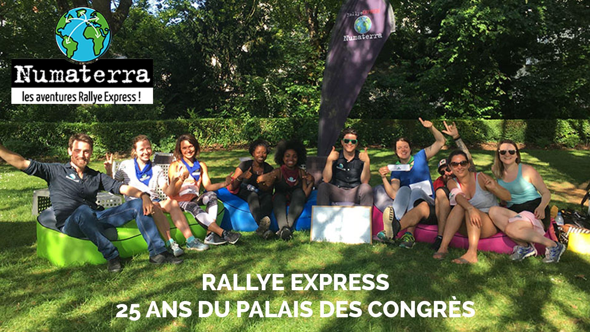RALLYE EXPRESS TOURS - EDITION SPECIALE LES 25 ANS DU PALAIS DES CONGRES VINCI LE 15 SEPTEMBRE
