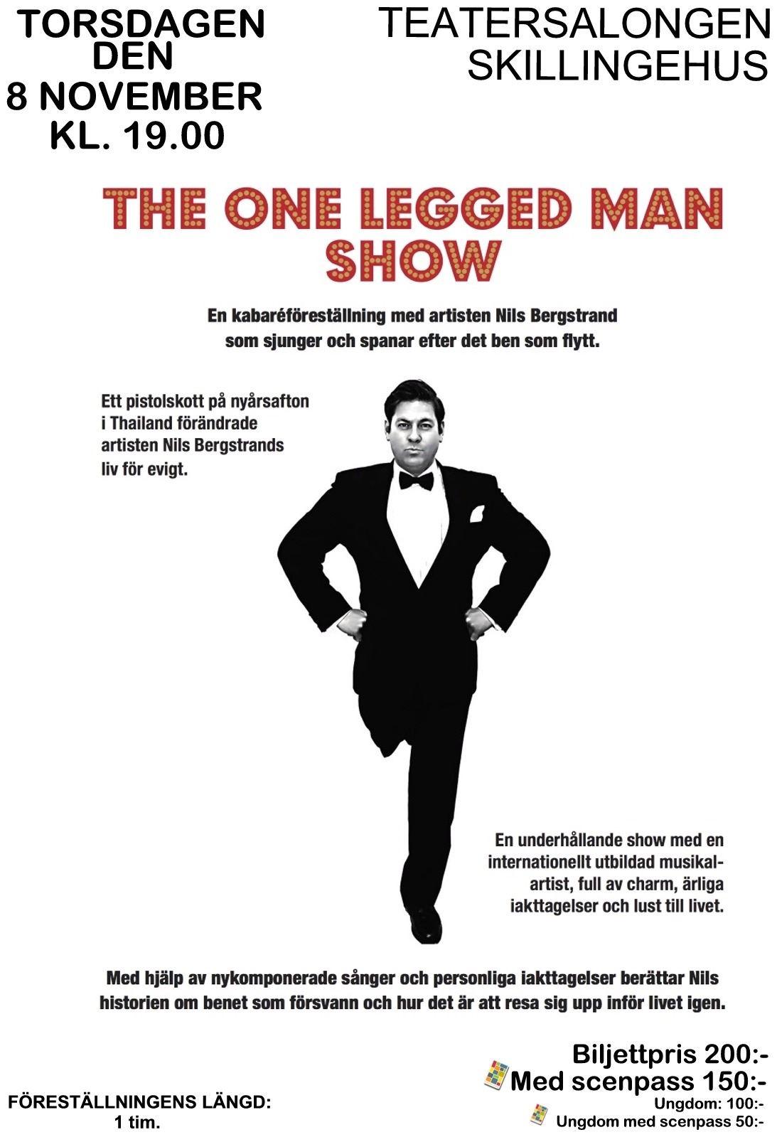 The one legged man show