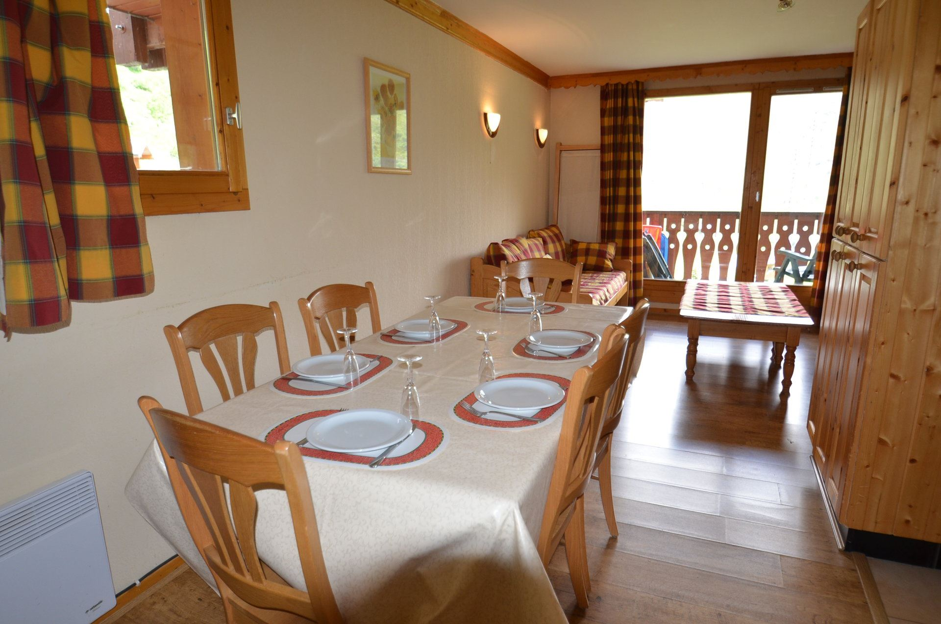 3 Rooms 4/6 Pers ski-in ski-out / VALMONT 1117
