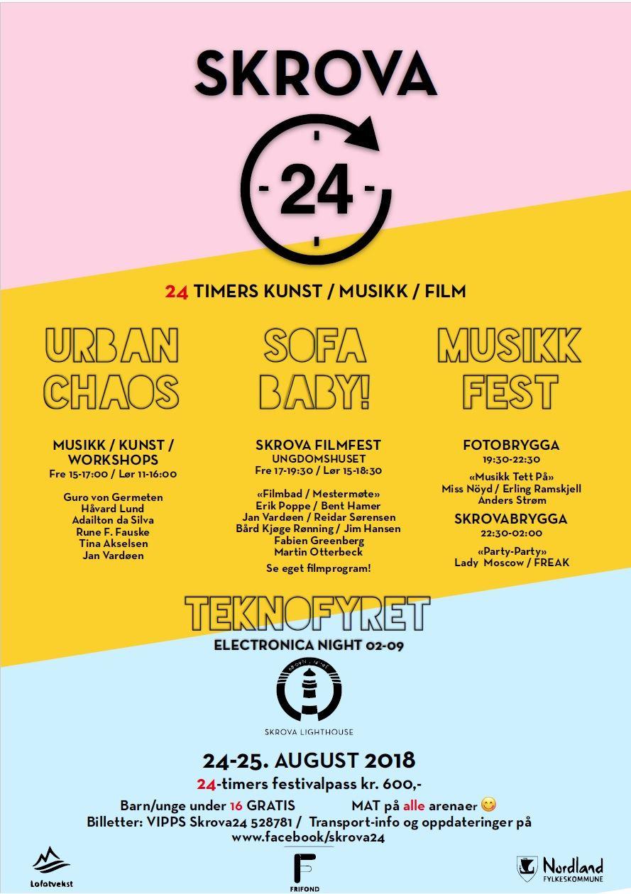 © Skrova 24, Program Skrova 24