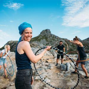 © Dagmara Wojtanowicz Photography, Hoop N Hike Retreat -Midnight Sun edition