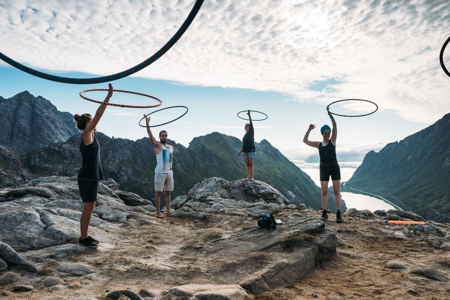 © Dagmara Wojtanowicz Photography, Hoop N Hike Retreat  -Midnight Sun edition