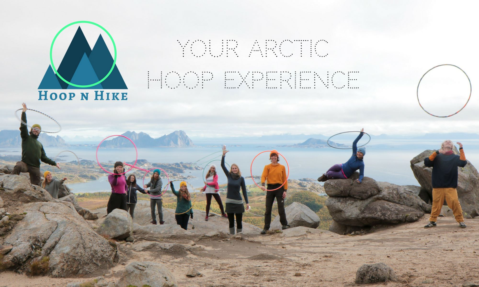 © Nok Sandholm, Hoop N Hike Retreat  -Midnight Sun edition